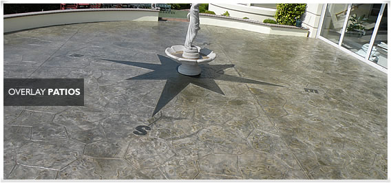 Concrete Overlayed Patio