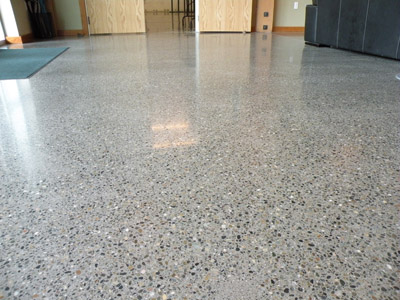 Polished concrete floors seattle home flooring ideas for Vinegar on concrete floor